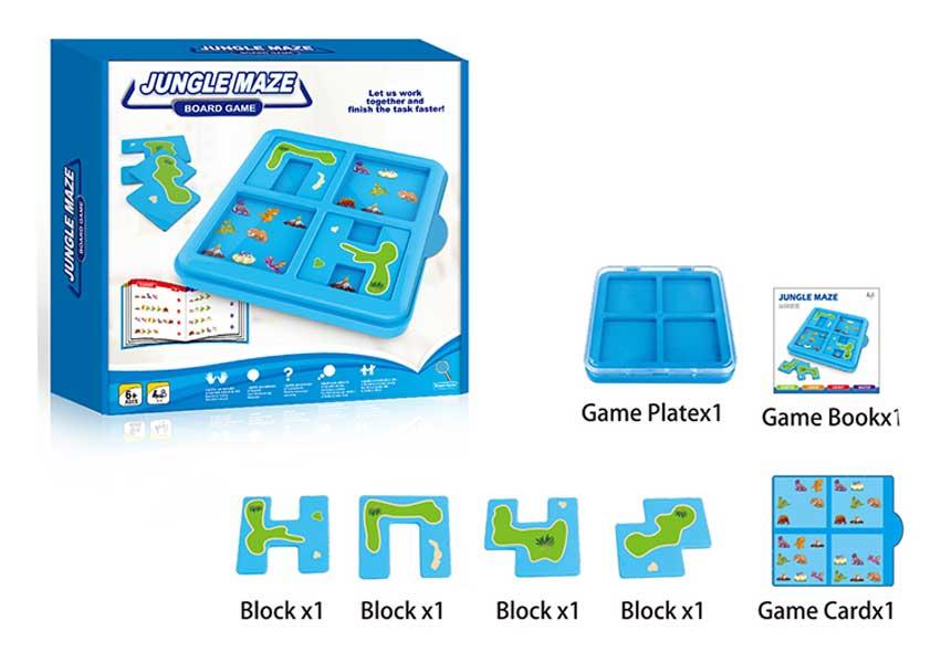 toko mainan online JUNGLE MAZE - 5080