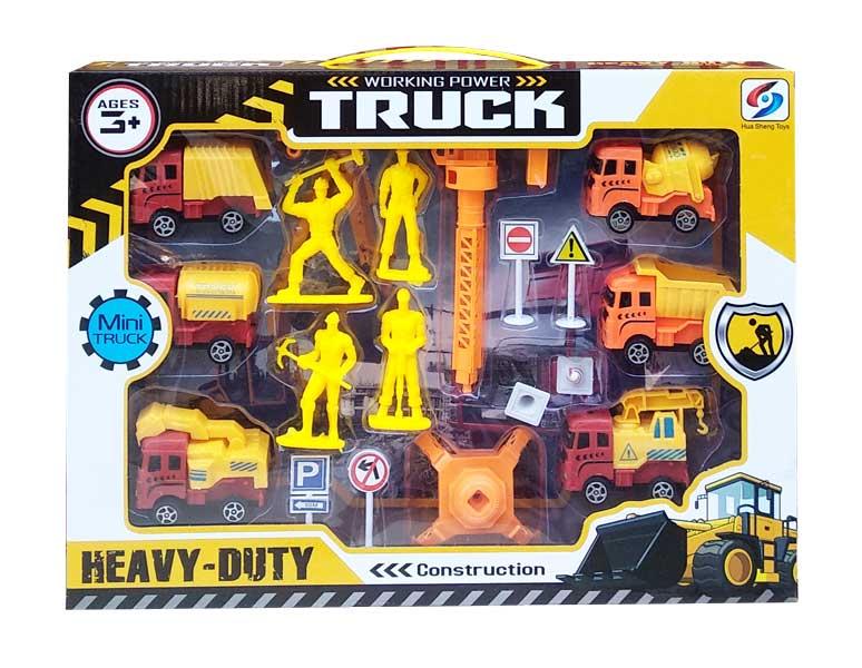 toko mainan online WORKING POWER TRUCK - HS6899