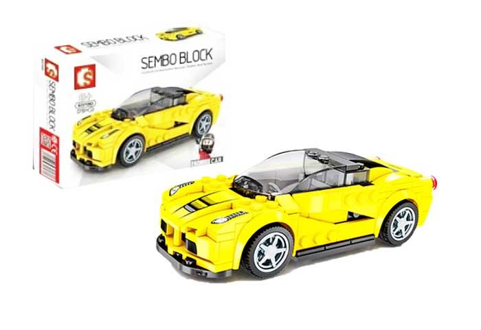 toko mainan online SEMBO CAR 179PCS - 607010