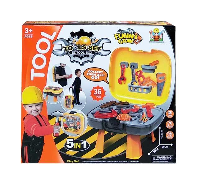toko mainan online TOOLS SET 5 IN 1 - 36778-70