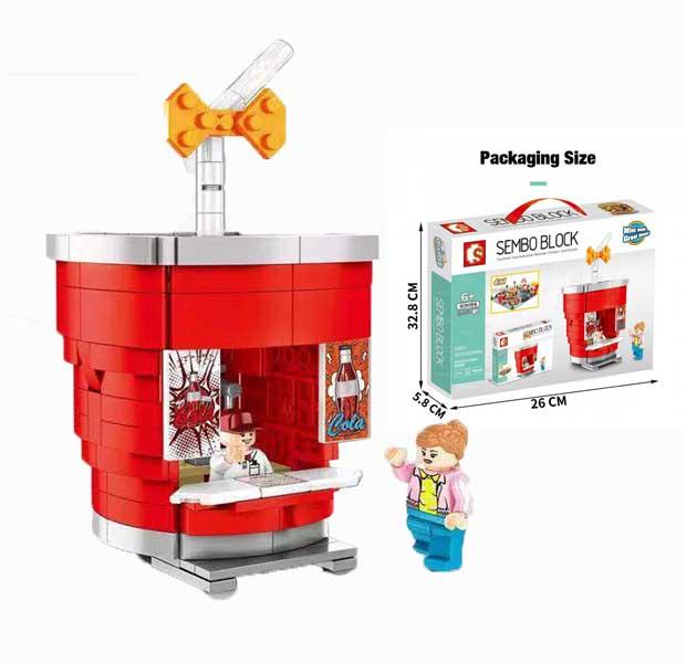 toko mainan online SEMBO BLOCK COLA 246PCS - 601056