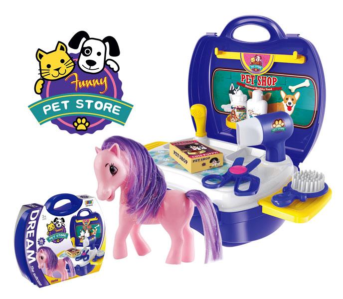 toko mainan online DREAM THE SUITCASE PET STORE - 8356