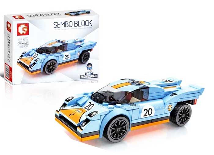 toko mainan online SEMBO CAR 161PCS - 607017