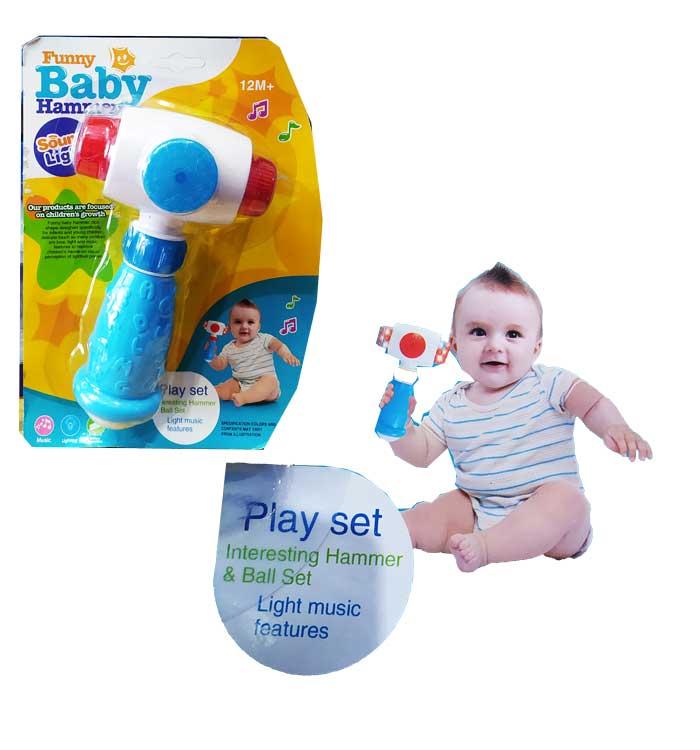 toko mainan online FUNNY BABY HAMMER - 337
