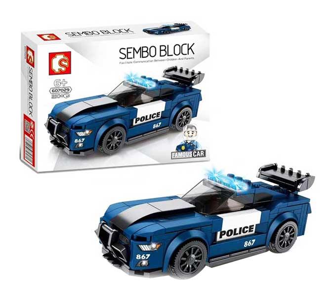 toko mainan online SEMBO CAR 210PCS - 607029