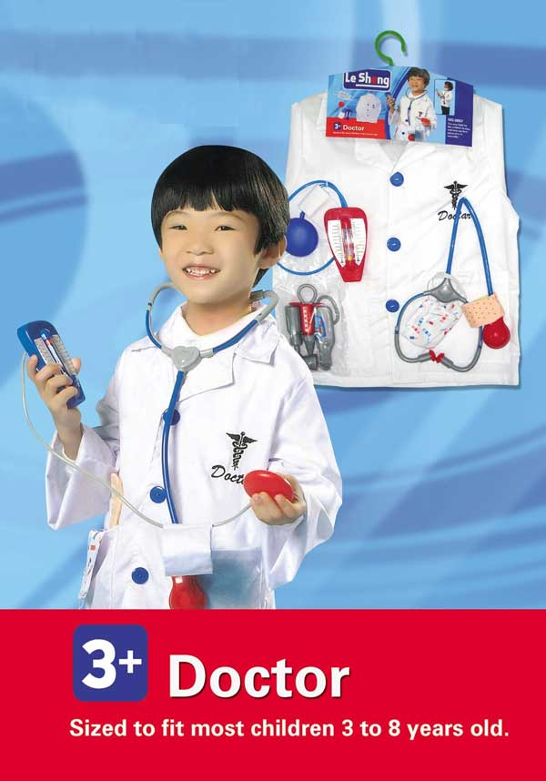 toko mainan online DOCTOR COSTUME - 0967