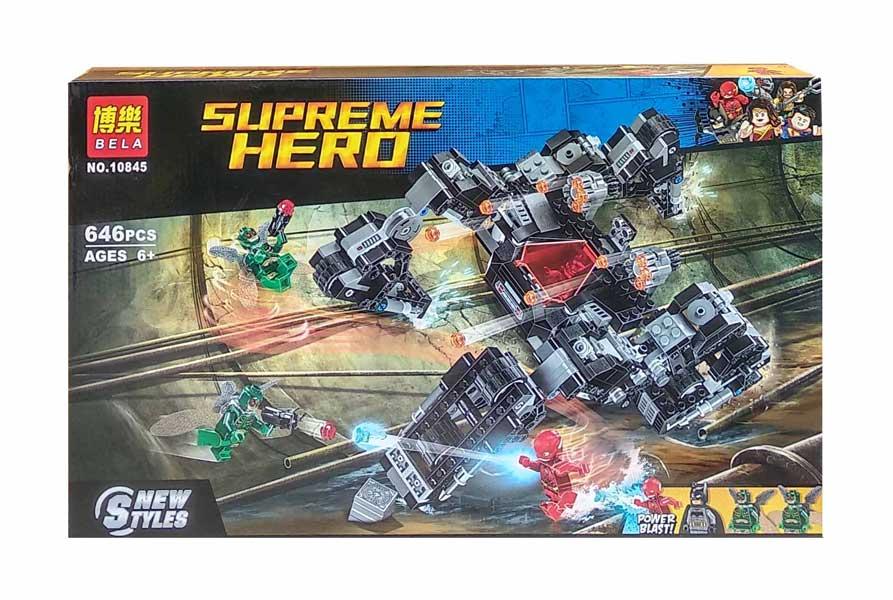toko mainan online BELA SUPREME HERO 646PCS - 10845
