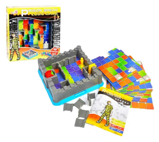 toko mainan online PRISON BREAK LOGIC GAME - 0807