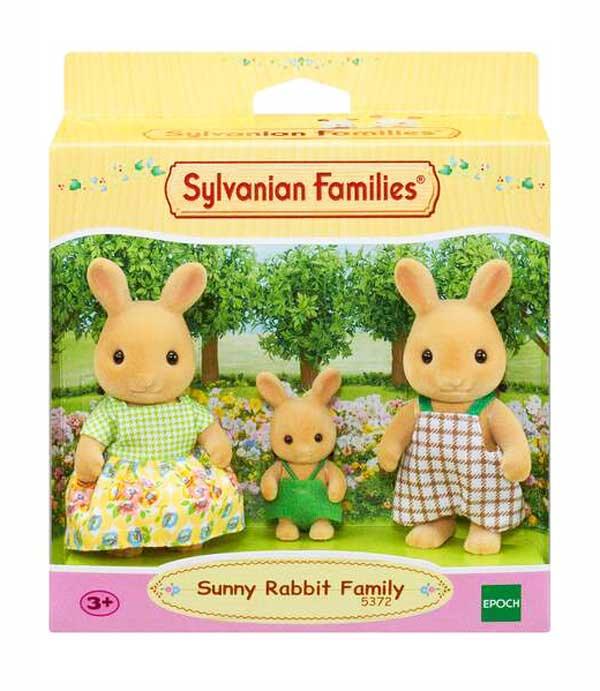 toko mainan online SYLVANIAN SUNNY RABBIT - 5372