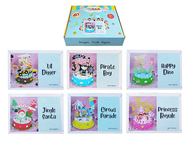 toko mainan online DIY CRAFT CAKE - NA KT