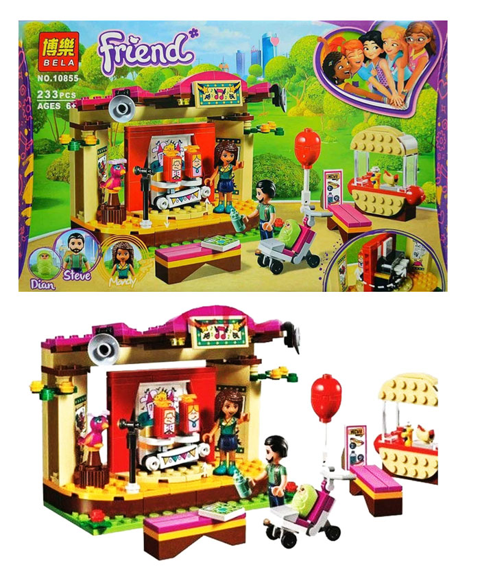 toko mainan online BLOCK FRIEND 233PCS - 10855