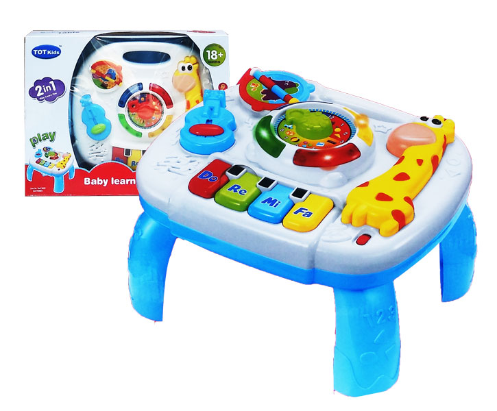 toko mainan online BABY LEARNING TABLE JERAPAH - 1089