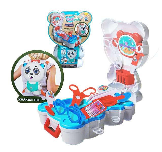 toko mainan online PET BACKPACK PANDA - L666-41/04191