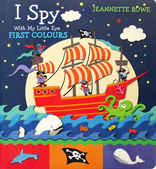 toko mainan online I SPY FIRST COLOURS - 060459