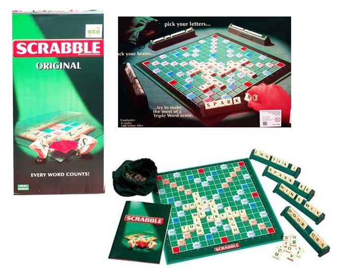toko mainan online SCRABBLE ORIGINAL KECIL - 55286