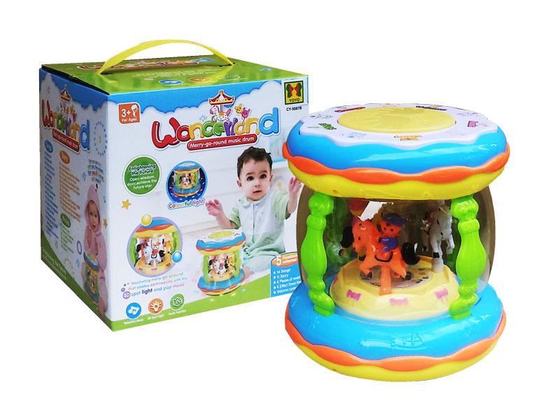 toko mainan online WONDERLAND MERRY GO ROUND CY5087B