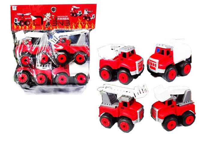 toko mainan online SANITATION CAR - 6060-9