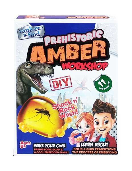 toko mainan online PREHISTORIC AMBER WORKSHOP - 1019
