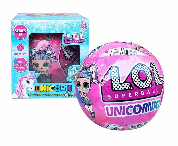 toko mainan online LOL SURPRISE UNICORNIO - 89015/838G
