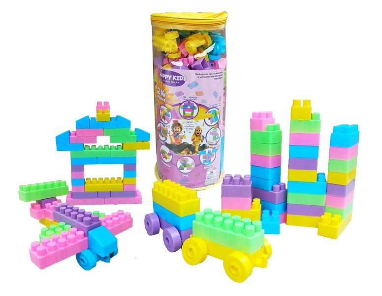 toko mainan online BUILDING BLOCK 216PC - HJ3838A