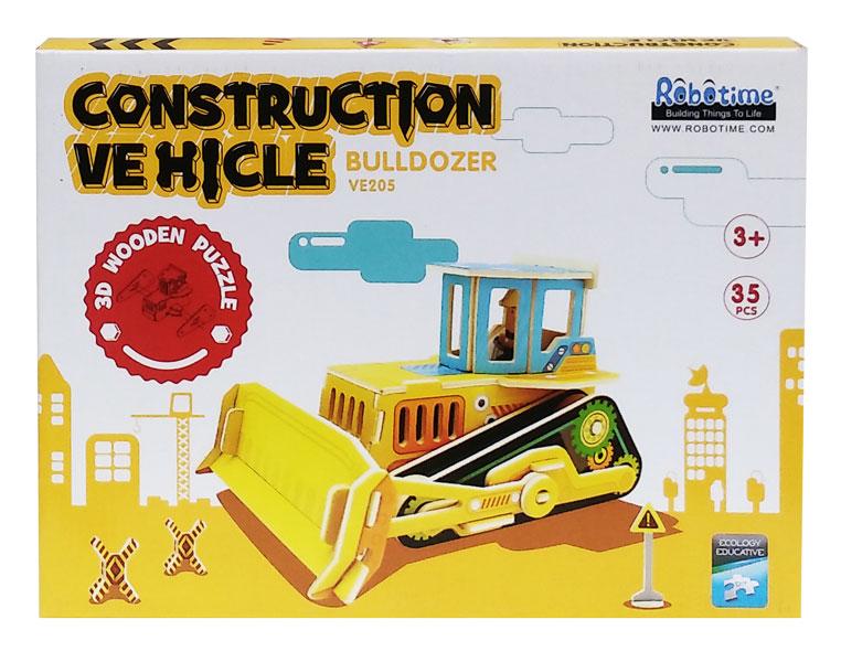 toko mainan online 3D PUZZLE BULLDOZER - VE205