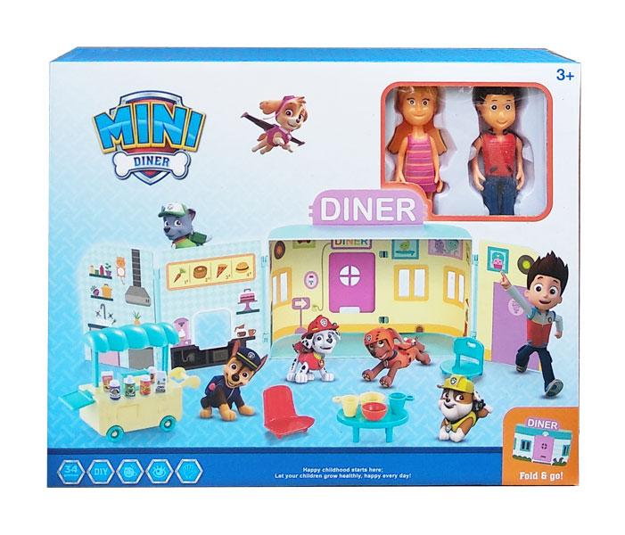 toko mainan online MINI DINER PAW PATROL - G2051