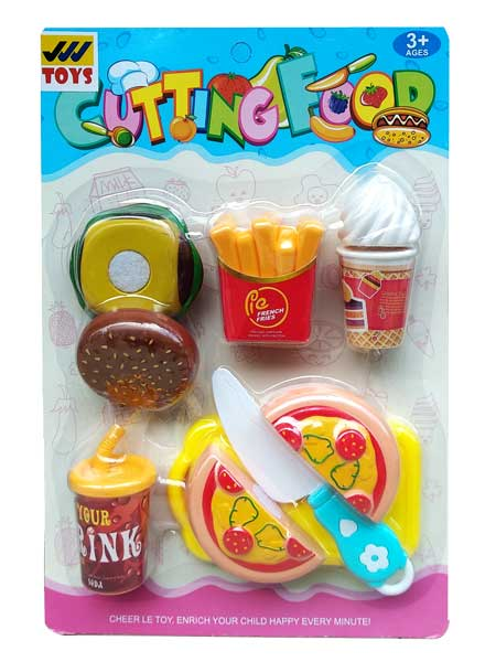 toko mainan online CUTTING FOOD - 6046