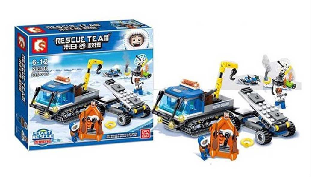 toko mainan online RESCUE TEAM 335PCS - SD9549