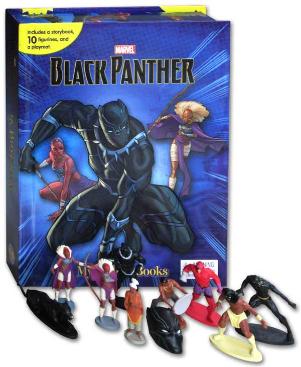 toko mainan online MY BUSY BOOK MARVEL BLACK PANTHER - BUSY-PANTH