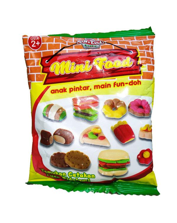 toko mainan online FUNDOH MINI FOOD - 28128 (gr24)