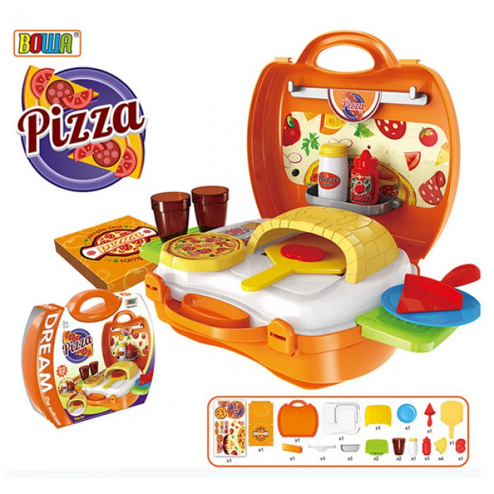 toko mainan online DREAM THE SUITCASE PIZZA - 8313
