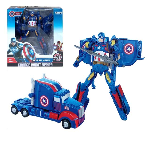 toko mainan online CHANGE ROBOT CAPTAIN AMERICA - 39-11