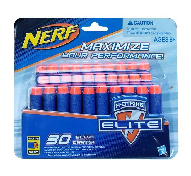 toko mainan online NERF DART 30PCS - 11215
