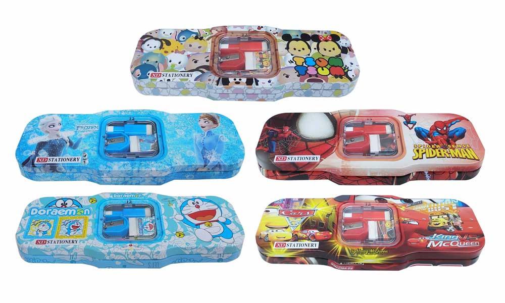 toko mainan online TEMPAT PENSIL KALENG - XD-9559