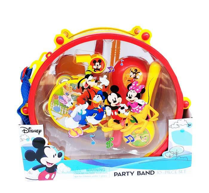 toko mainan online PARTY BAND  MICKEY 10PCS - 03242