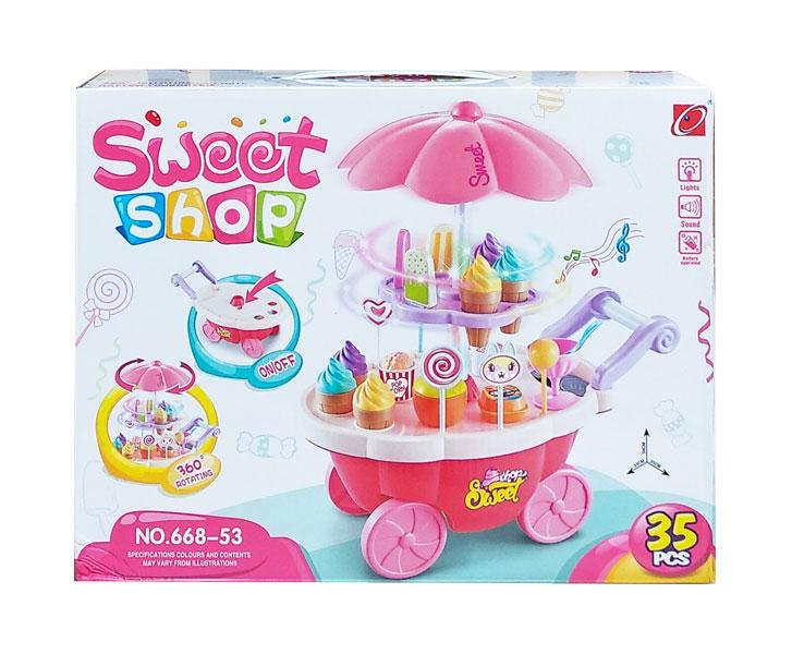 toko mainan online SWEET SHOP 35PCS - 668-53