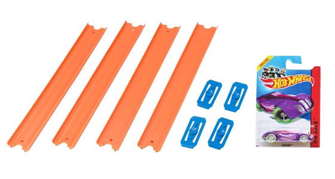 toko mainan online HOT WHEELS TRACK BUILDER PACK - 79013