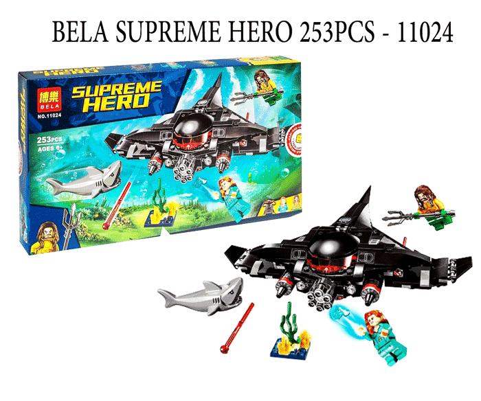 toko mainan online BELA SUPREME HERO 253PCS - 11024