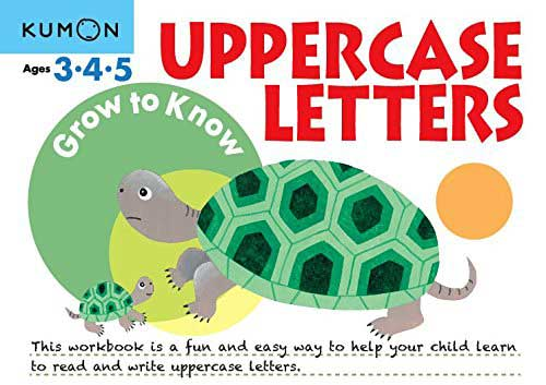 toko mainan online Kumon Grow to Know Uppercase ABC