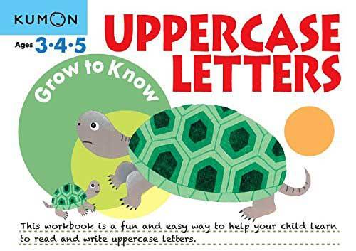 toko mainan online Kumon Grow to Know Uppercase ABC