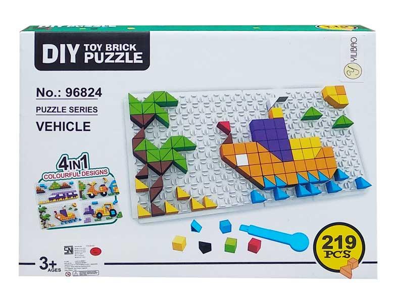 toko mainan online DIY TOY BRICK PUZZLE - 96824