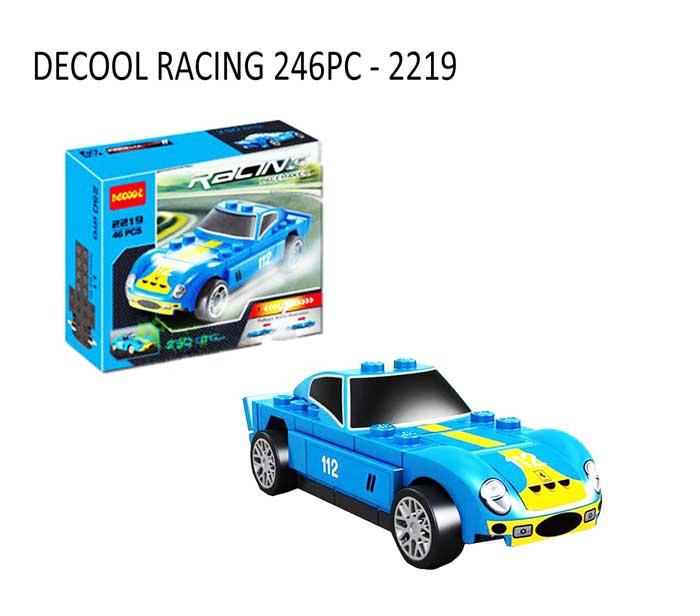 toko mainan online DECOOL RACING 46PC - 2219