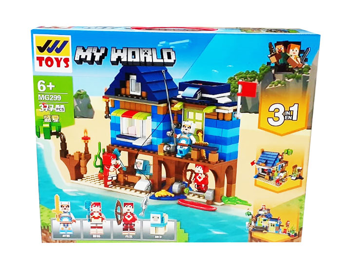 toko mainan online MY WORLD 377PC - MG299