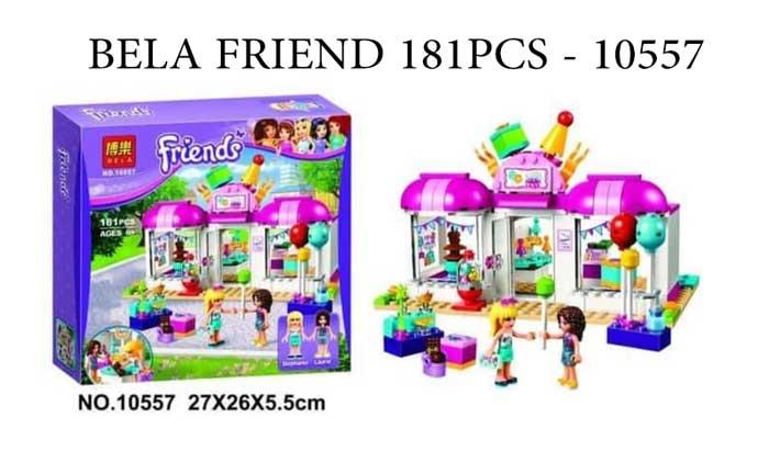 toko mainan online BELA FRIEND 181PCS - 10557