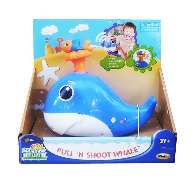 toko mainan online WINFUN PULL N SHOOT WHALE-7112