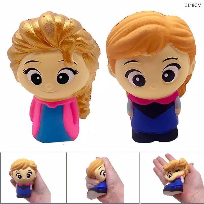 toko mainan online SQUISHY ELSA / ANNA- LC389
