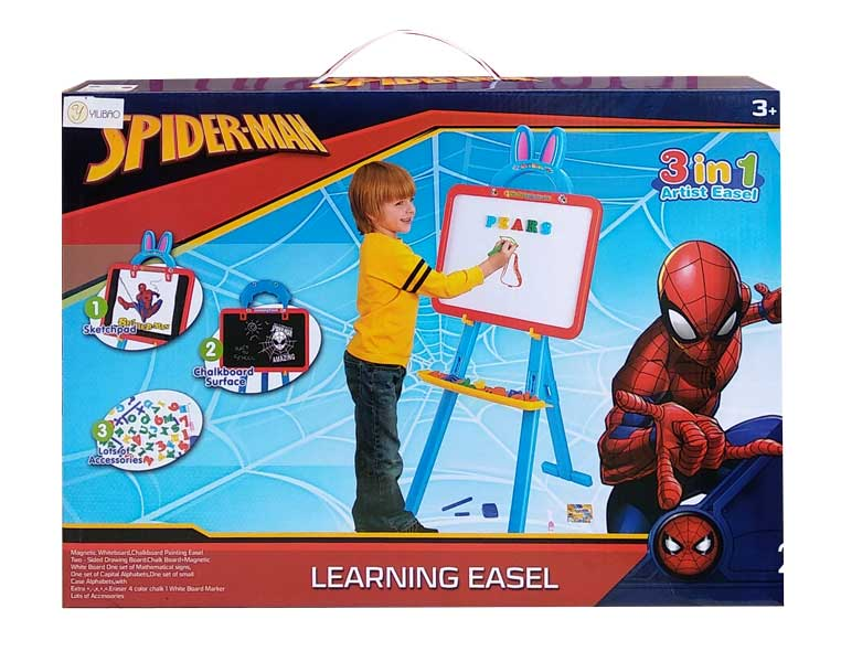 toko mainan online LEARNING EASEL SPIDERMAN - 3689