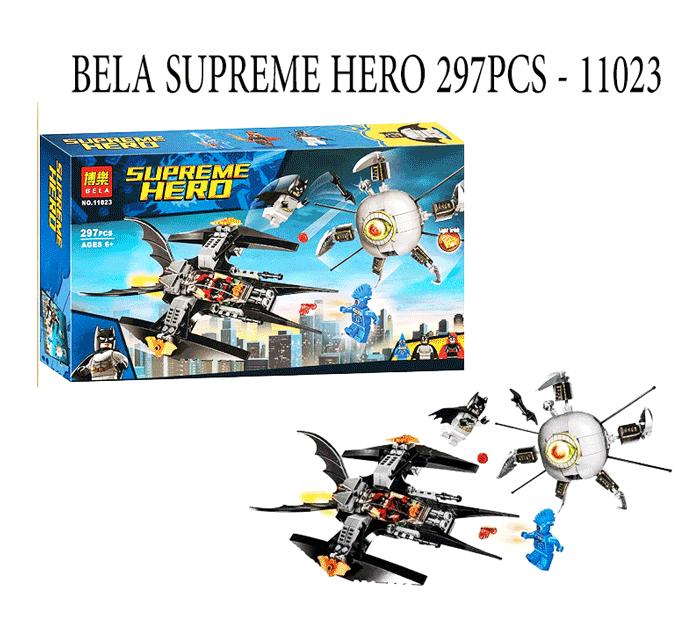 toko mainan online BELA SUPREME HERO 297PCS - 11023