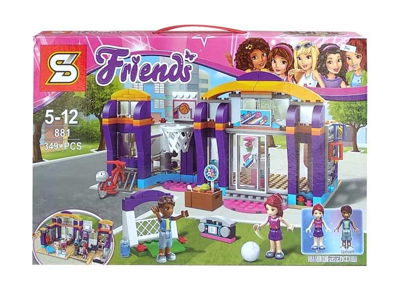 toko mainan online BLOCK FRIENDS MIA ROBERT 349PCS - 881