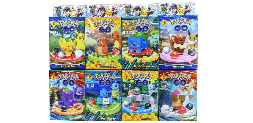 toko mainan online BLOCKS POKEMON GO ROTARY ISI 8 - SL8942 (gr8)